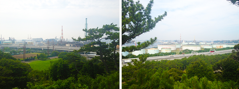 松風閣からの眺め