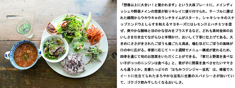ヤマウシ小屋_lunch