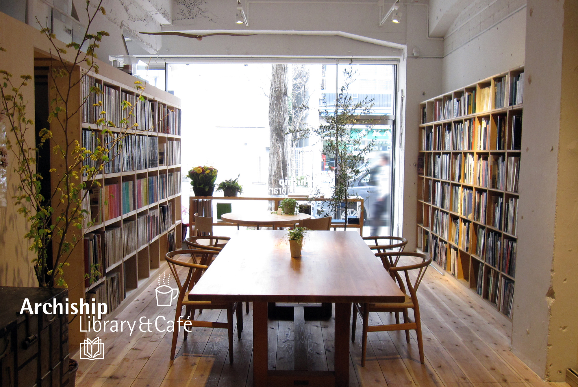 Archiship Library&Cafe