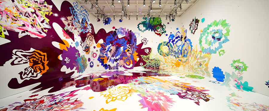 《鳴る色》/2010/ミクストメディア/資生堂ギャラリーphoto:Nacása & Partners Inc