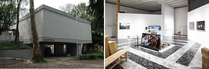 日本館外観・第55回国際美術展 展示の様子