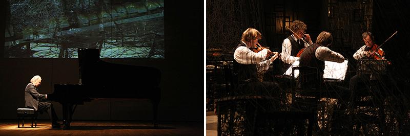 「沈黙から」塩田千春展&アート・コンプレックス2007 より Ⓒ Matron