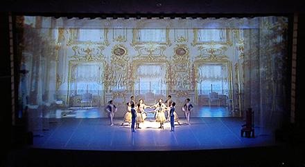 Snow White, Green Ballet & Siyon Jin Media Art Collaboration