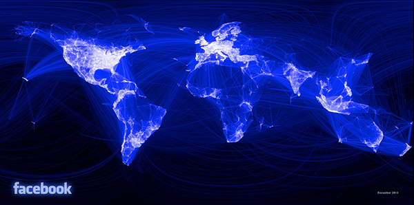 Facebook Map, related image with Flow 47-600
