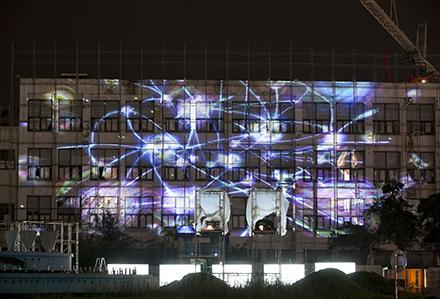 Flow 47, Single channel video, projection, 2012, Gwangju City-440