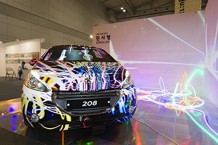 SIYON JIN PEUGEOT ART CAR, 2013, Gwangju Art Fair-440