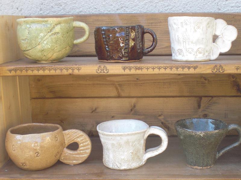冬から早春の期間限定メニュー  陶芸・マイマグカップづくり
