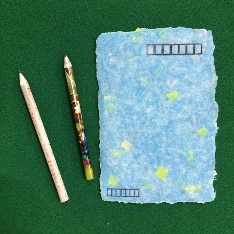 夏休み特別企画「工作がいっぱい!自由研究パラダイス2015」 科学工作教室「自分だけの紙とえんぴつを作ろう」