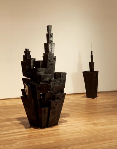 小田薫の彫刻-記憶の住処