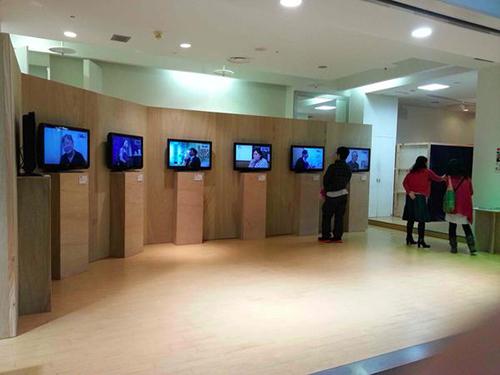Port観光リサーチセンター「宿命の交わるところー秋田の場合」展示風景