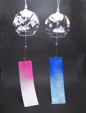 夏休み!工房体験 サンドブラストで、風鈴や冷茶グラスなど 季節に合ったガラス小物作り