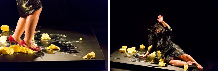 ムラティ・スルヨダルモ『BORROW + EXERGIE – butter dance』TPAM2015