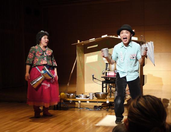 コソダテ アートプロジェクト in山手ゲーテ座 子そだては爆発だぁ2015 「のら犬バロンとわたし」