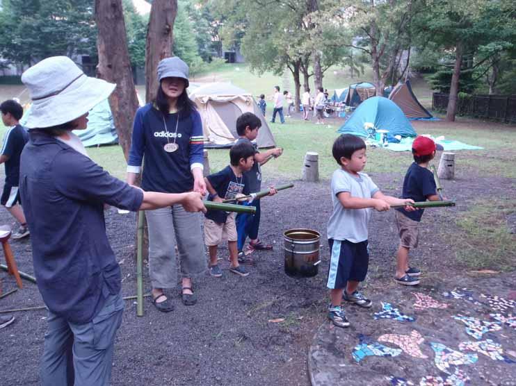 夏休み青少年ウィーク! 親子わくわくキャンプ 親子を対象にした自然体験!