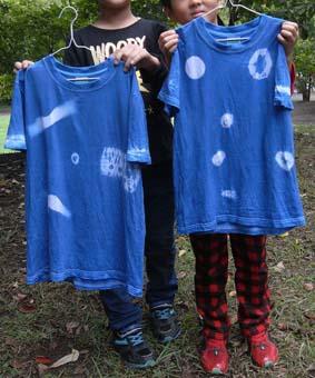 オーガニックブルーを楽しむ! 藍染めで素敵に染める デザインTシャツ&エコバック