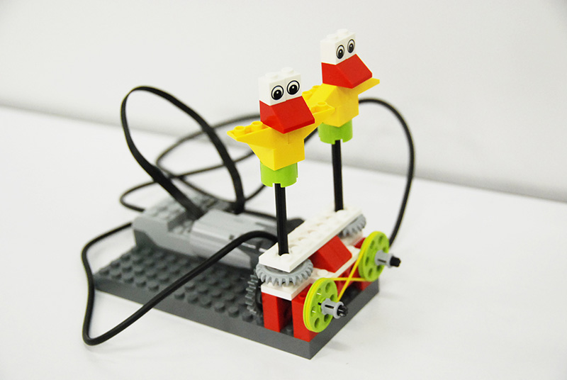 ロボット教室「初めてのプログラミング ~レゴWeDoを使って~(ダンシングバード)」
