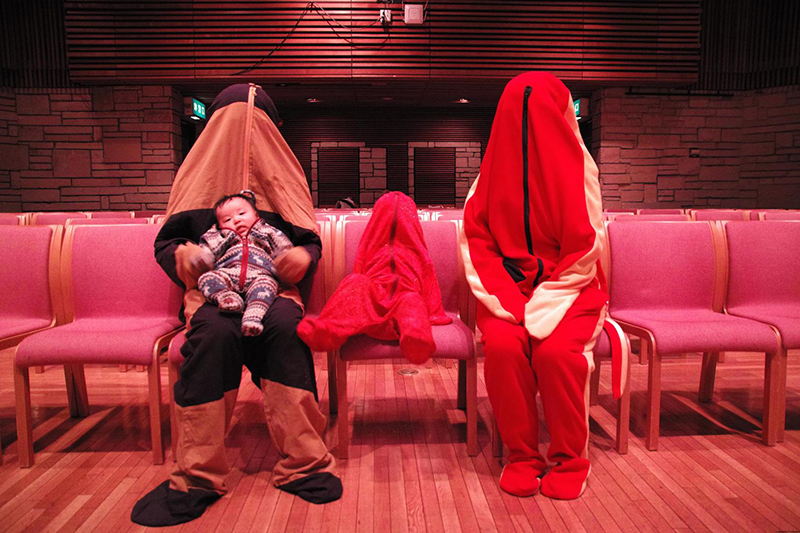 ヒダ ミチヨ 人バッグ展 「ちきゅうのいきもの」