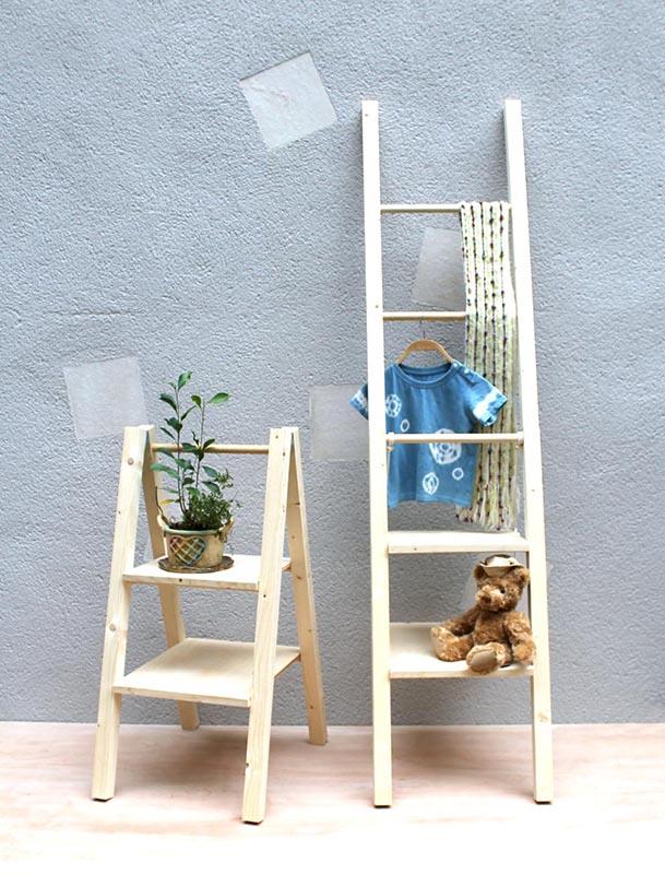 木工ワークショップ 木の棚作り