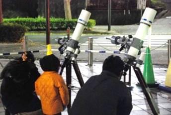 プラネタリウムと星空観察会 「2月の星空をみよう!オリオン大星雲をみよう!」
