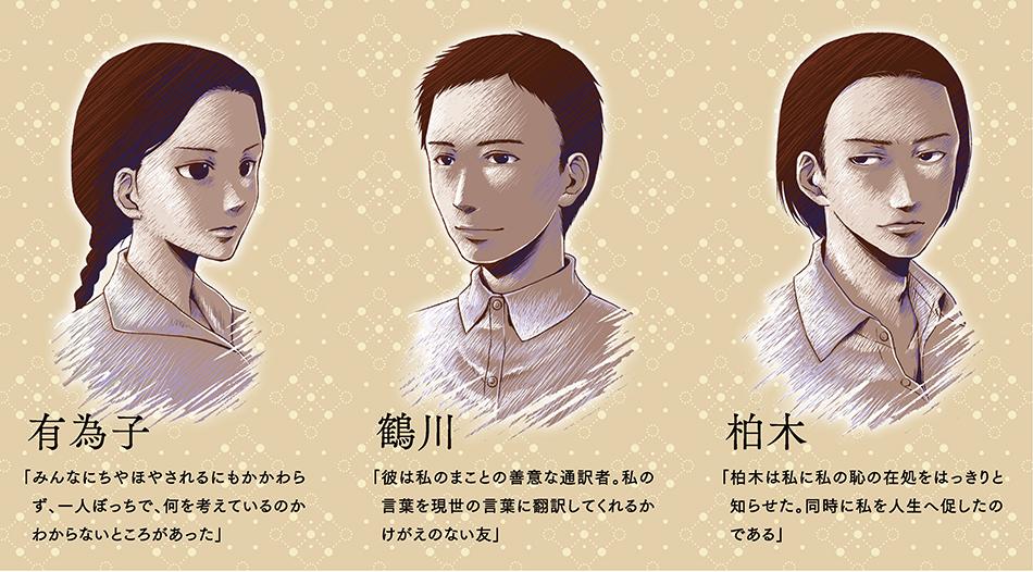 オペラ「金閣寺」人物紹介