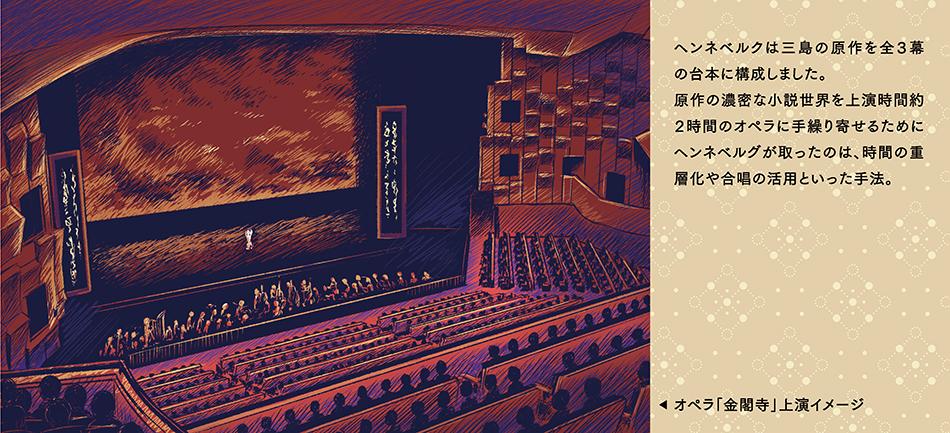 オペラ「金閣寺」上演イメージ