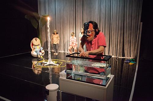 岡崎藝術座『イスラ! イスラ! イスラ!』京都公演より Photo:Takuya Matsumi
