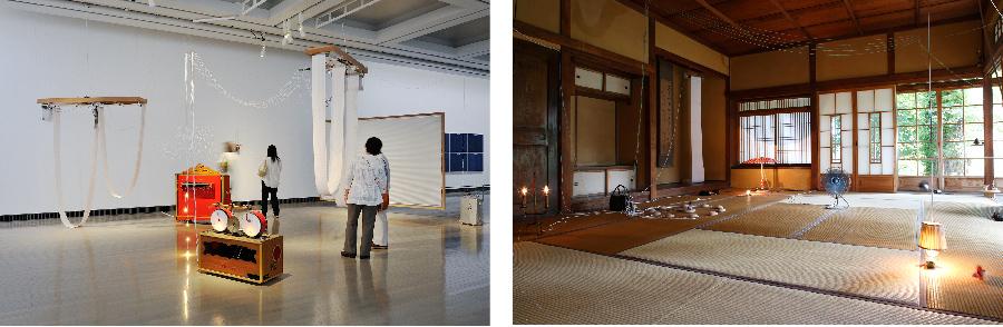 《I/O──ある作曲家の部屋》2014 《サーカスの地中》2014