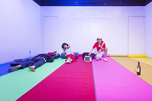 岡崎藝術座『+51 アビアシオン, サンボルハ』 Photo:Yuta Fukitsuka