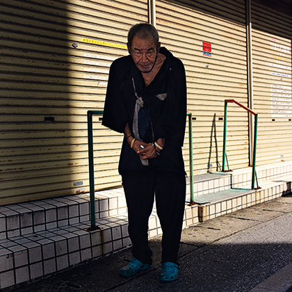 OP.002187 那覇(okinawa portraits 2010-2012より)/2012年/インクジェット・プリント