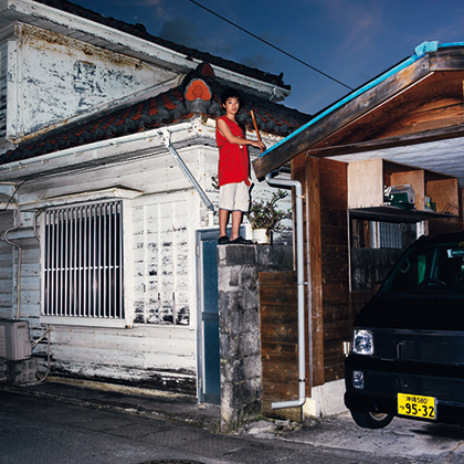 OP.001143 那覇(okinawa portraits 2010-2012より)/2013年/インクジェット・プリント