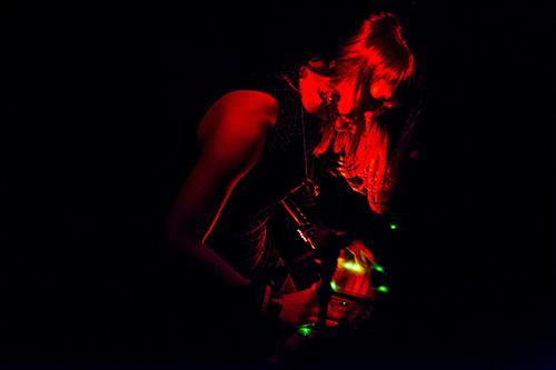 Tara Transitory performing //gender|o|noise\.Photo:Hideto Maezawa.