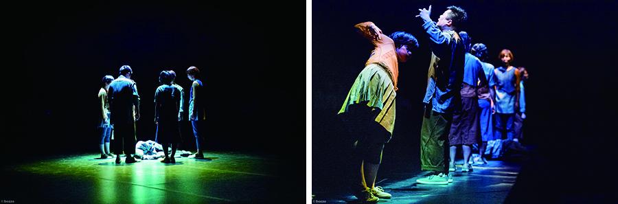 KAAT神奈川芸術劇場での旗揚げ公演『くちからでる』公演写真Ⓒbozzo