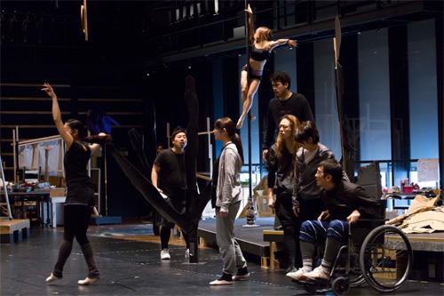 写真:『夢の劇 ─ドリーム・プレイ─』公開稽古より