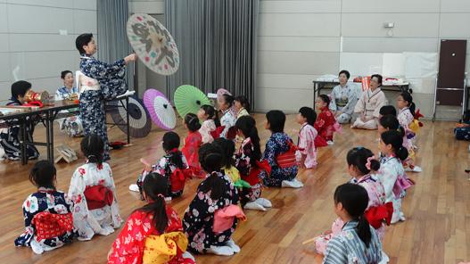 平成28年度 かながわ伝統芸能ワークショップ「日本舞踊に学ぶ'和'の作法」~おくゆかしい日本文化の香り~