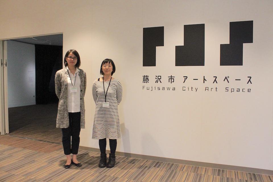 竹上さん(左)と杉本さん