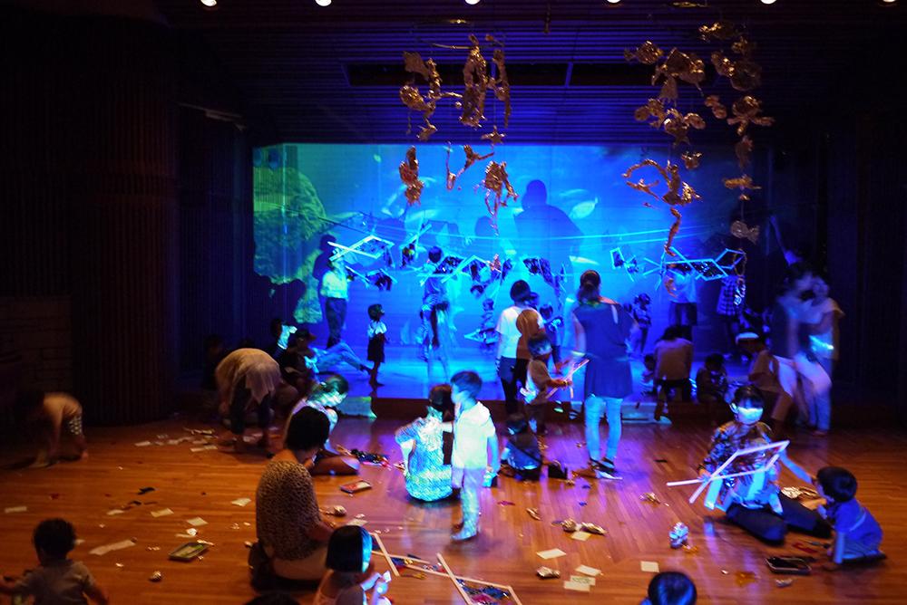夏のワークショップ2016 子そだては爆発だぁ2016「まぼろし水族館」