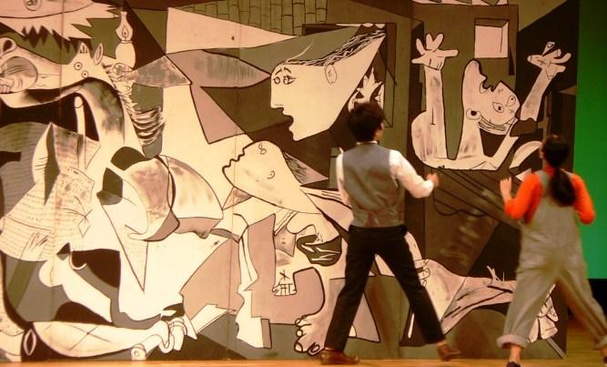 画像:横浜市立日吉台西中学校「ファントムシップとパブロピカソの旋律」