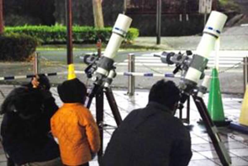 プラネタリウムと星空観察会「11月の星空をみよう!旗星を探して、アンドロメダ銀河をみよう! 」