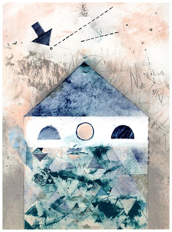 米澤寛子「三角の家_03」