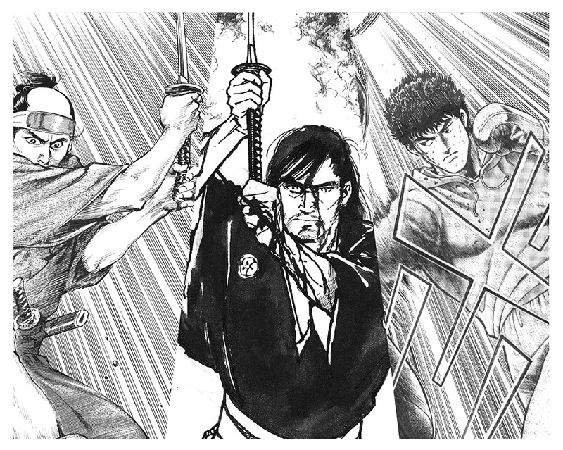 竹宮惠子監修 原画'(ダッシュ)展示シリーズ 「青年マンガの世界」