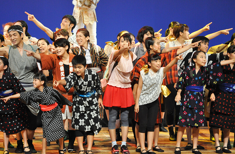 「ナミとチャル文明開化は横須賀から始まった!」の一幕