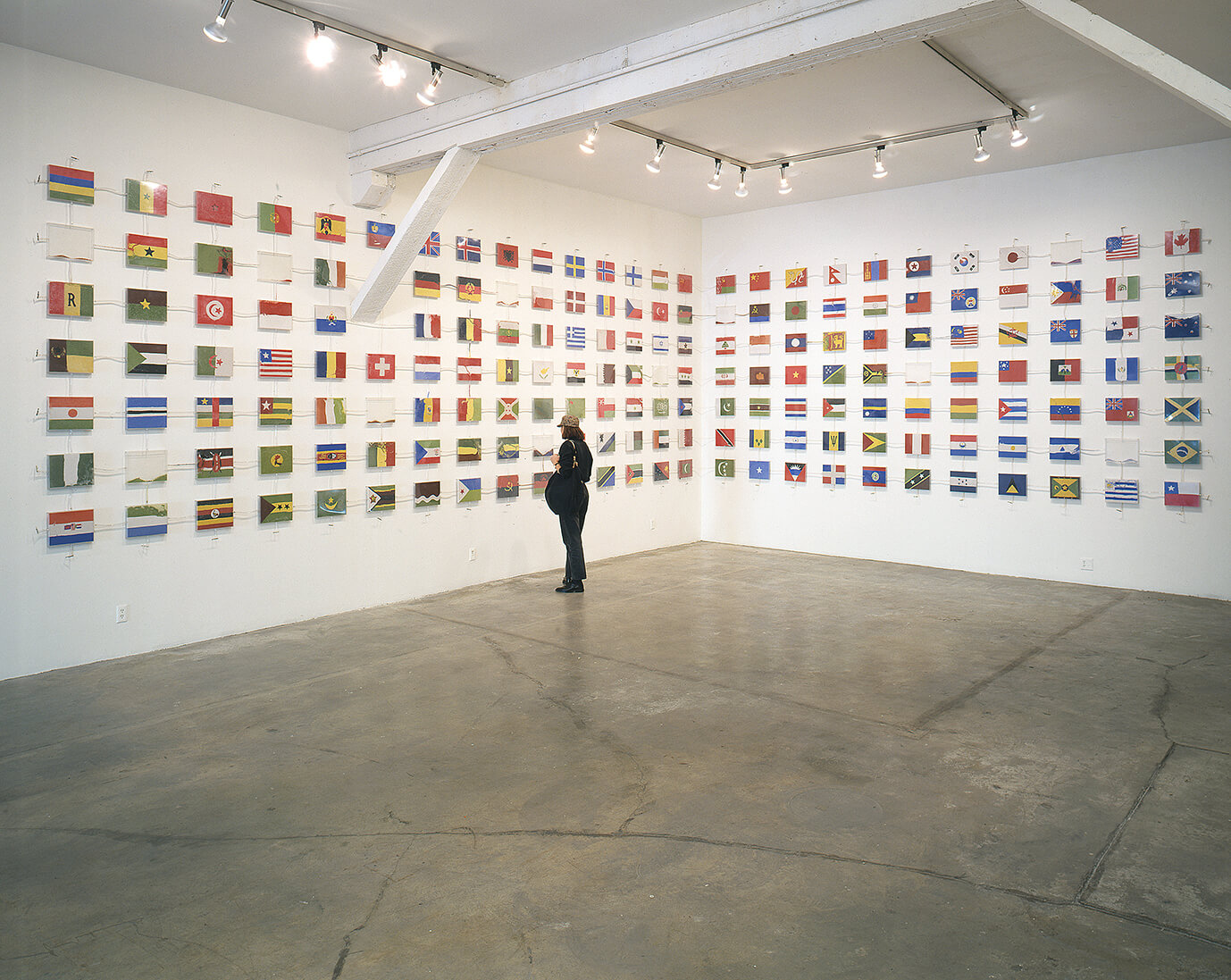 The World Flag Ant Farm (1990), Los Angeles Contemporary Exhibitions, Los Angeles