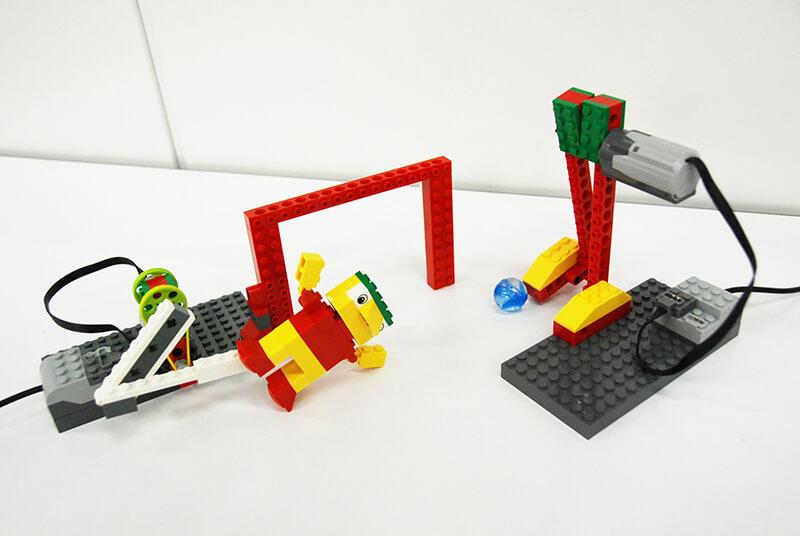 ロボット教室【親子教室】「初めてのプログラミング-〜レゴWeDoを使って〜(サッカー)」