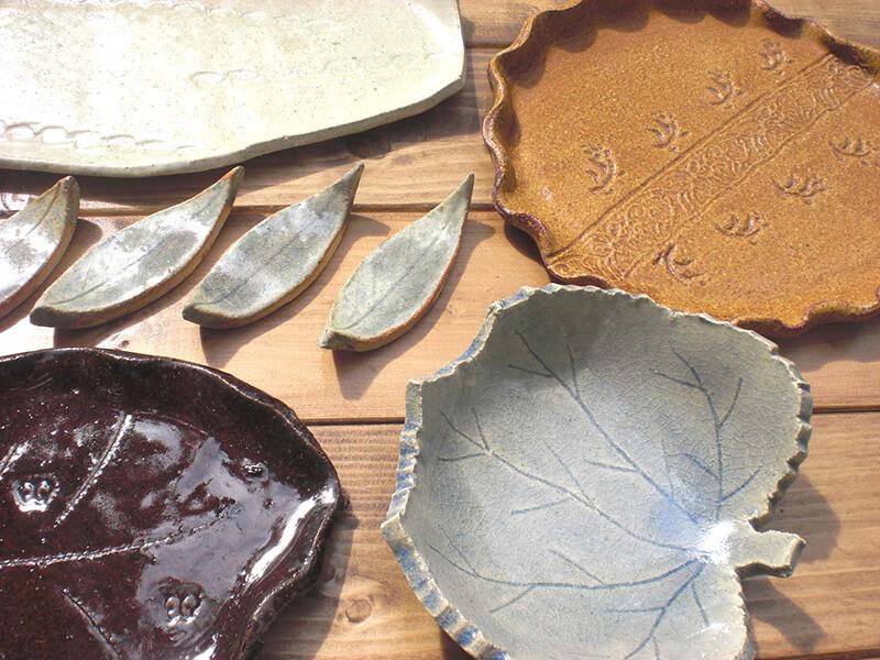 陶芸「秋の食卓」