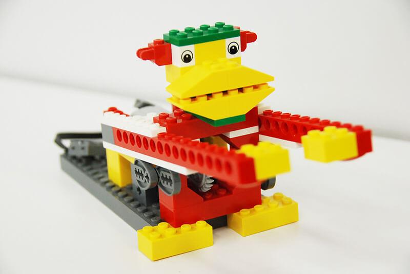 ロボット教室【親子教室】「初めてのプログラミング〜レゴWeDoを使って(ドラミングモンキー)」