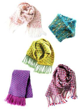 冬はほっこり織り体験!ぬくぬく素材であったかマフラー作り