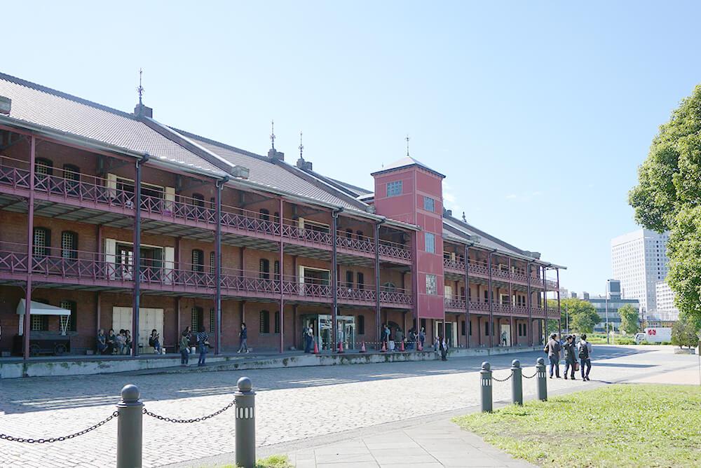 横浜のシンボル・赤レンガ倉庫