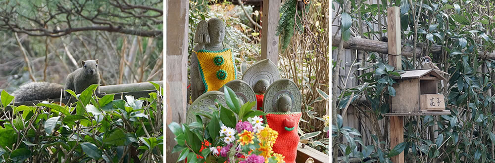 Squirrel and Jizo
