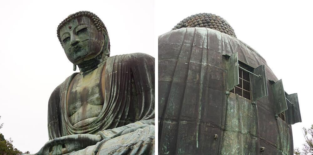 鎌倉の大仏の中(胎内)