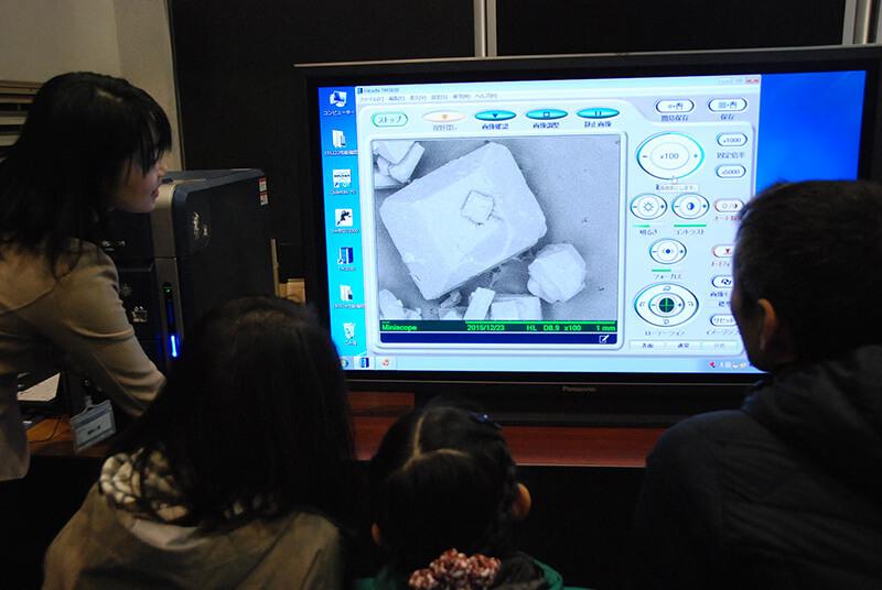 ワークショップ「卓上電子顕微鏡を体験しよう!」 2
